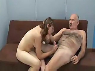 Daddy Daughter Handjob Old and Young Young