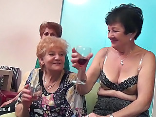 Drunk Granny Homemade Old and Young