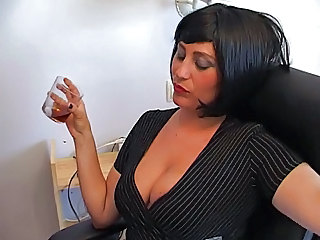 Amazing MILF Natural Office Secretary
