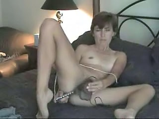 Amateur Homemade Masturbating Mature Solo Toy