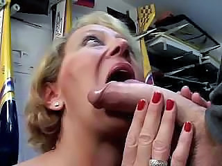 Big cock Blowjob European French Mature Old and Young