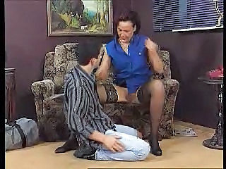 European German Mature Mom Old and Young Stockings