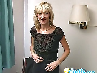 Blonde Mature Wife