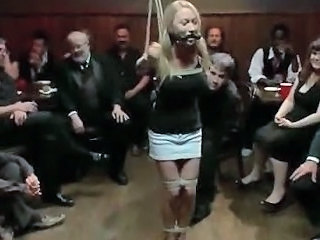 Bondage Bus Fetish Party Slave