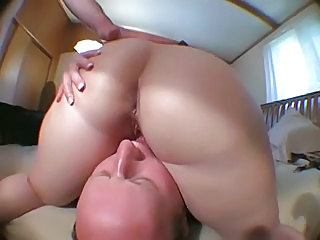 Ass Cuckold Licking Threesome Wife