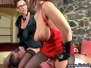 Big Tits Facesitting Femdom Groupsex MILF Stockings