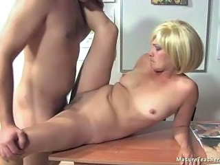 Blonde Hardcore Mature Teacher