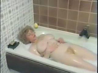 Bathroom Big Tits Chubby Hairy MILF Natural Vintage