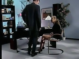 MILF Office Secretary Stockings