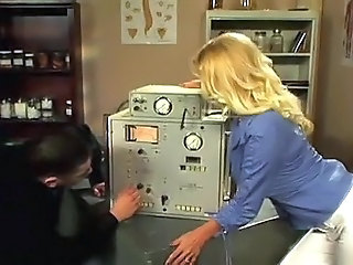 Blonde MILF Teacher Vintage