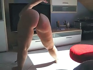 Amateur Ass Chubby Dancing Homemade MILF Wife