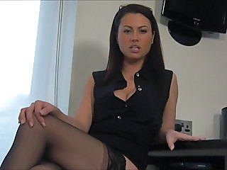 British European MILF Stockings