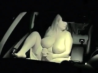 Amateur BBW Big Tits Car Natural SaggyTits Wife