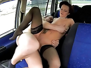 Car Hardcore Stockings Teen