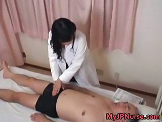 Asian Daddy Japanese Nurse Old and Young Uniform