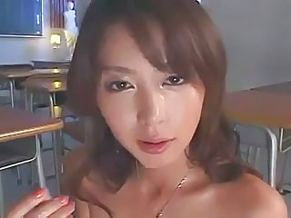 Amazing Asian Japanese MILF Teacher