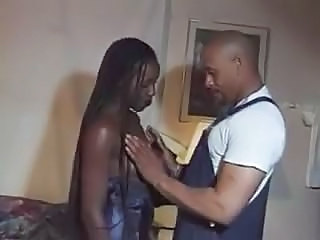 Ebony Long hair MILF