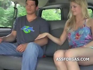 Blonde Car Funny Teen