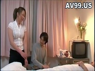 Rough Sex With Busty Japanese Housewife