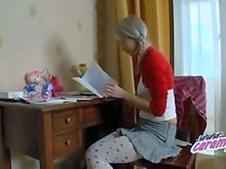 Cute Russian Skirt Teen