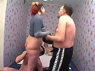 Amateur Daddy Daughter Family Homemade Licking Old and Young