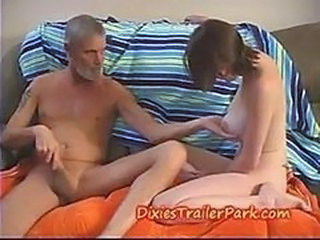 Daddy Daughter Natural Nipples Old and Young Teen
