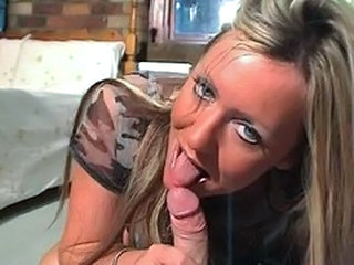 Blowjob British European MILF
