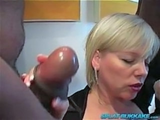 Gangbang Handjob Interracial Mature