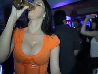 Babe Big Tits Drunk Party