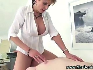 Big Tits British CFNM European Facesitting Licking MILF