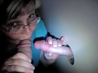 Amateur Blowjob Glasses Gloryhole