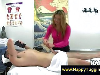 Asian CFNM Massage