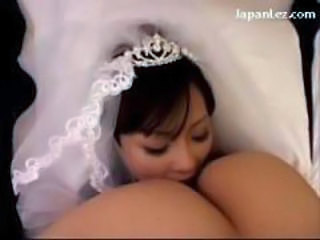 Asian Bride Bus Facesitting MILF
