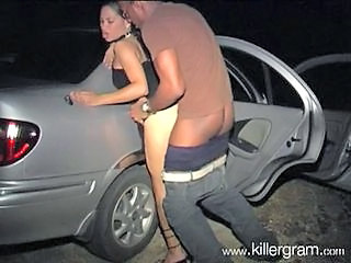 Amateur Car Doggystyle Interracial