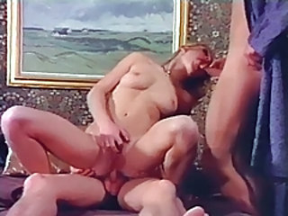 Blowjob European Threesome Vintage