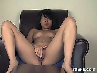 Ebony Masturbating Sleeping Teen