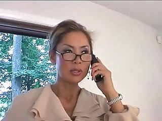 Asian Glasses MILF Wife