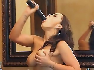 Big Tits Deepthroat French MILF Toy
