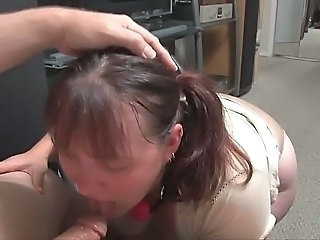 Blowjob Chubby Homemade MILF Pov