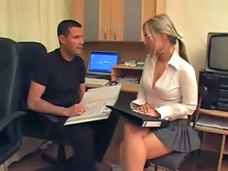 Amazing Glasses Office Secretary Skirt