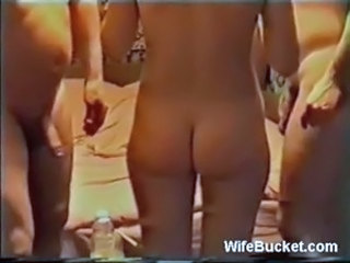 Homemade threesome with a bored wife free