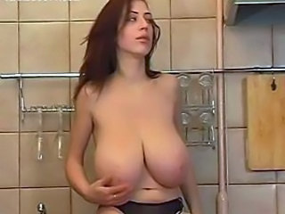 Big Tits Kitchen Panty SaggyTits Teen