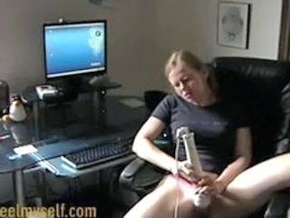 Homemade Masturbating Teen Toy
