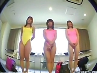 Asian School Teen Uniform Voyeur