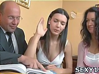 Student Teacher Teen Threesome