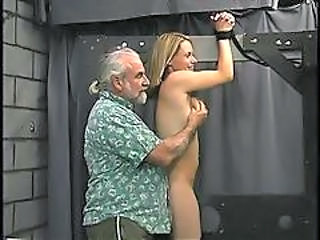 Man Binds Cute Blond S Wrists And Show Her Who S Boss.