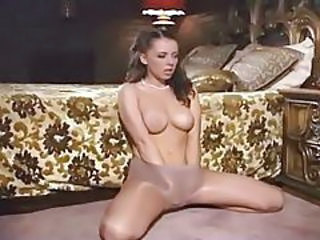 Cute Masturbating Pantyhose Teen
