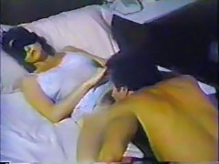 Licking MILF Sleeping Vintage Wife