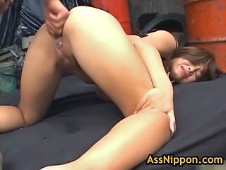 Asian Ass Fisting MILF