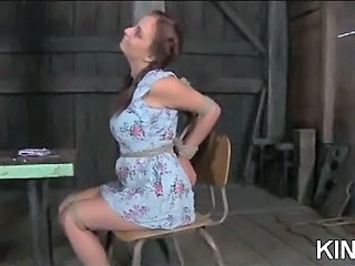 Bondage Outdoor Teen